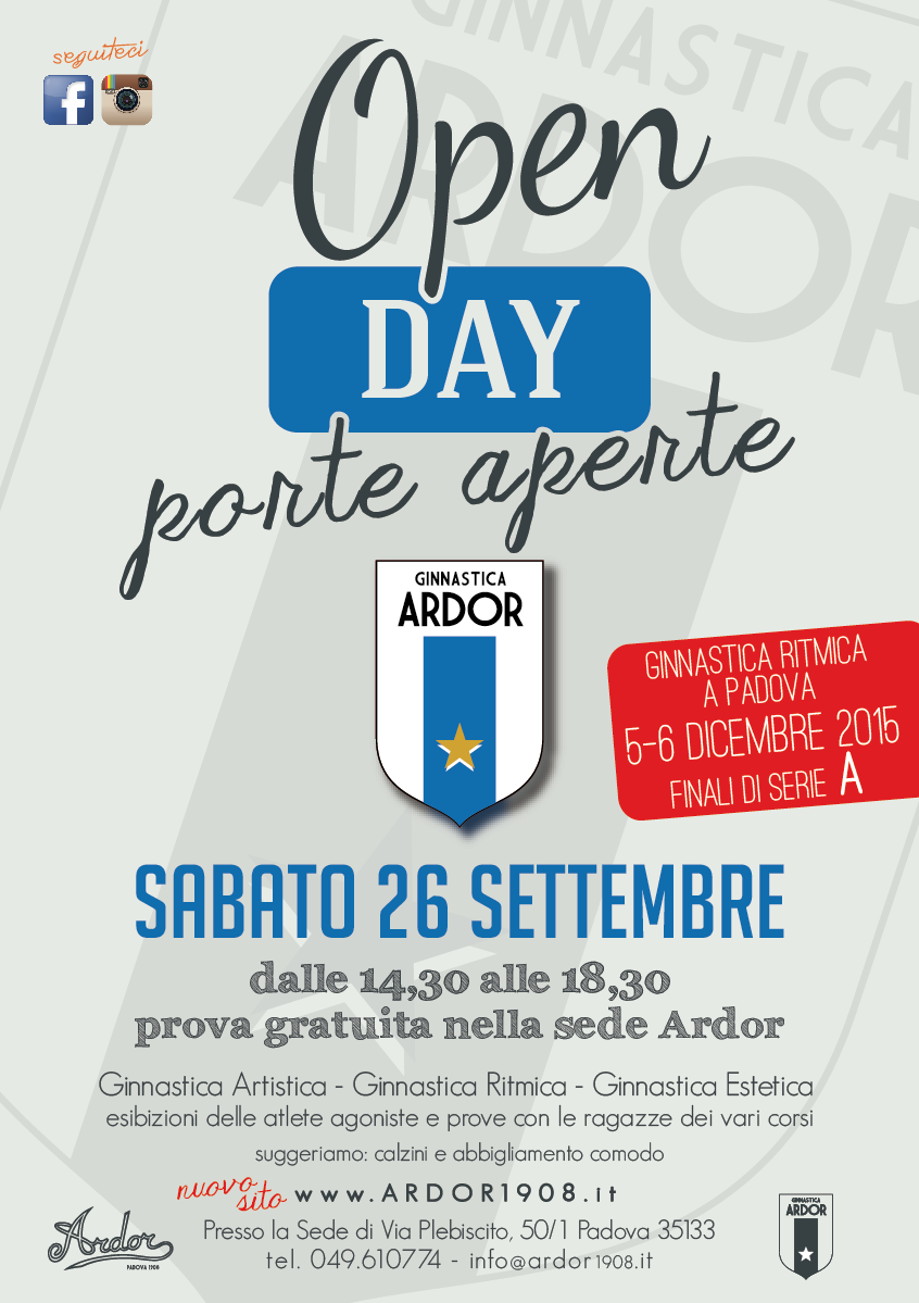 Open Day 2015 Ardor