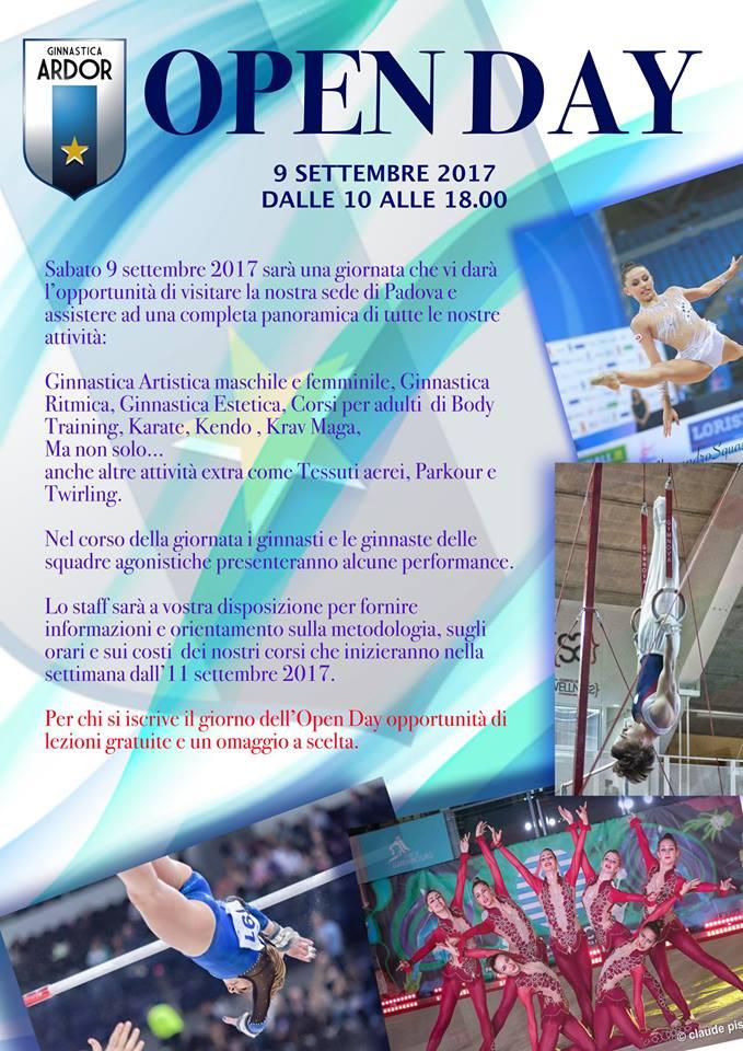 ginnastica ardor padova open day 2